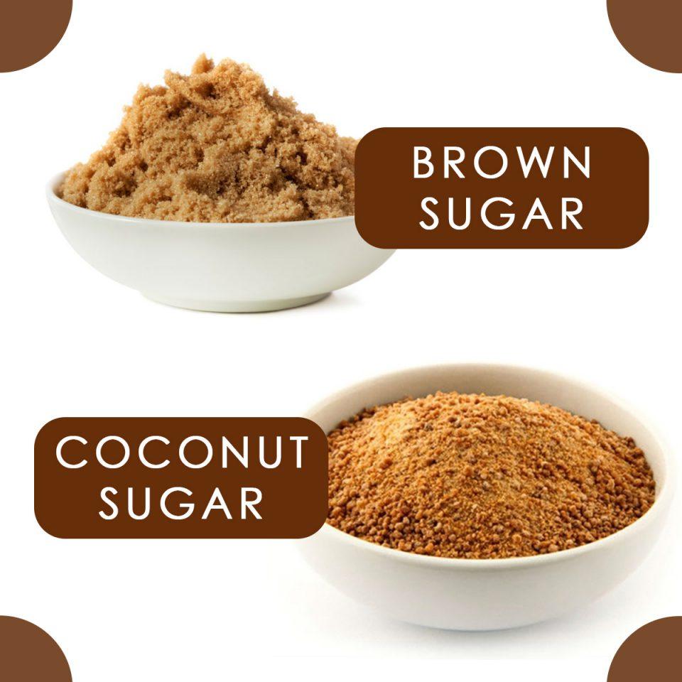 coconut sugar - brown sugar